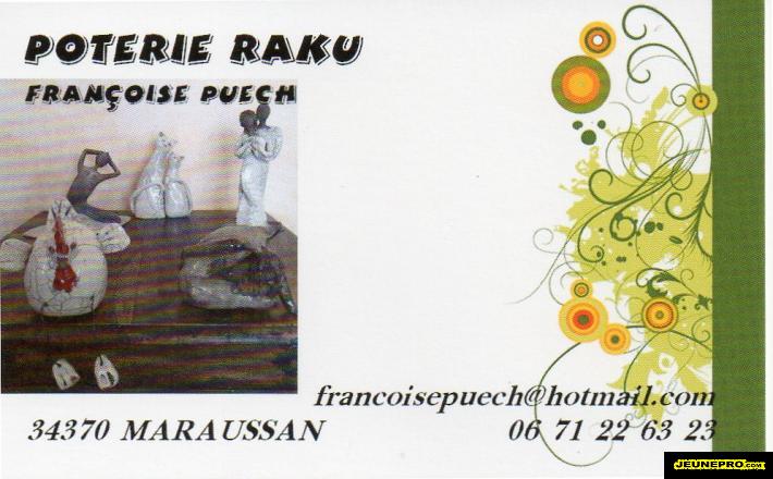 du cote des artistes offre poterie raku en france languedoc roussillon. Black Bedroom Furniture Sets. Home Design Ideas