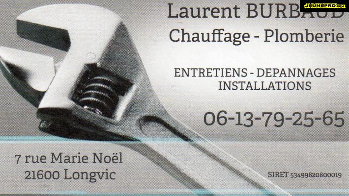 Laurent BURBAUD Plombier Chauffagiste